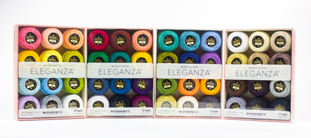 Eleganza™ #8 Perle Cotton Packs