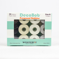DecoBob™ Prewound M Size Assorted Pack DBLMB-Basic