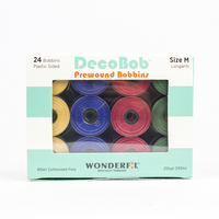 DecoBob™ Prewound M Size Assorted Pack DBLMB-Xmas