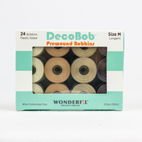 DecoBob™ Prewound M Size Assorted Pack DBLMB-Neutral