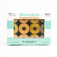 DecoBob™ Prewound M Size Assorted Pack DBLMB-Sand