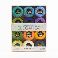 Eleganza #8 Perle Cotton Pack WFEZP-Coral Reef