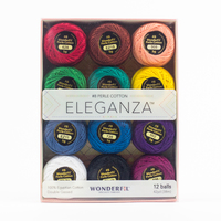 Eleganza #8 Perle Cotton Pack WFEZP-Kaleldoscope