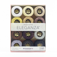 Eleganza #8 Perle Cotton Pack WFEZP-Neutral