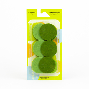 Sue Spargo Pre-cut Wool Circle Pack SSPWC11/2-Green