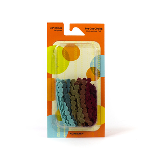 Sue Spargo Pre-cut Wool Circle Pack SSPWC1/4-Nature