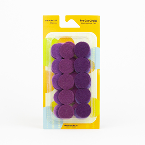 Sue Spargo Pre-cut Wool Circle Pack SSPWC7/8-Violet