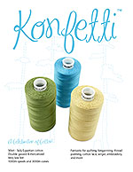 Konfetti Color Booklet